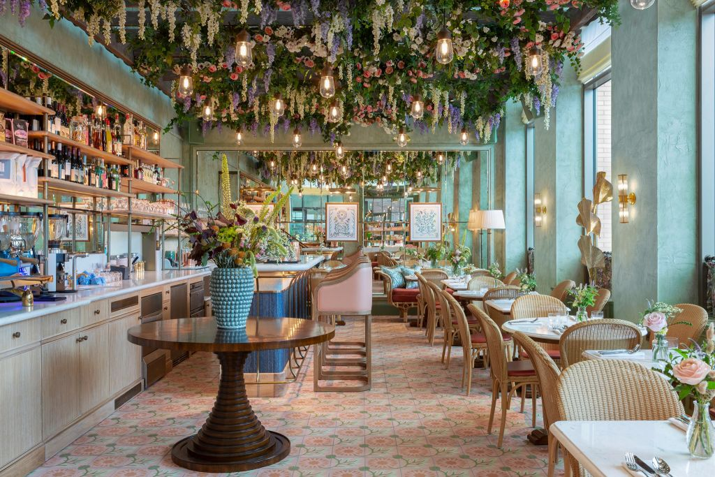 Linnaean restaurant in London