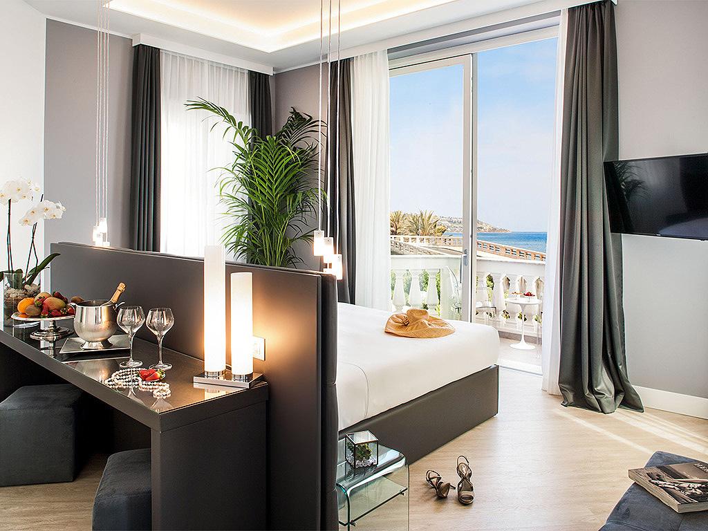 Miramare The Palace Hotel Junior Suite in Luguria Italy