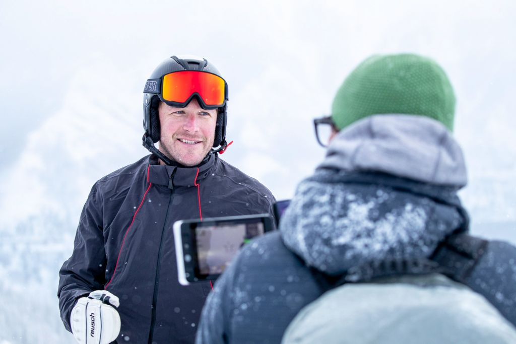 Olympic Gold Medallist and World Champion skier Bode Miller