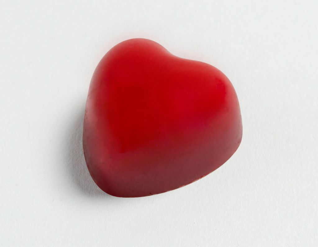 Pierre Marcolini & Carine Gilson raspberry chocolate heart