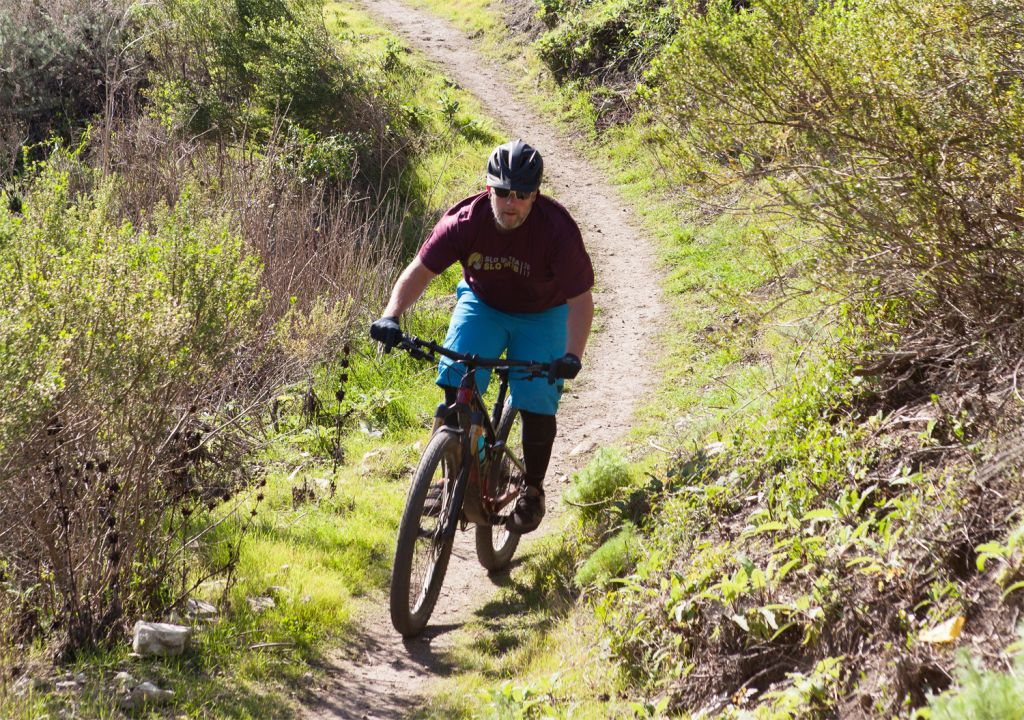 Cycling on the Pismo Preserve