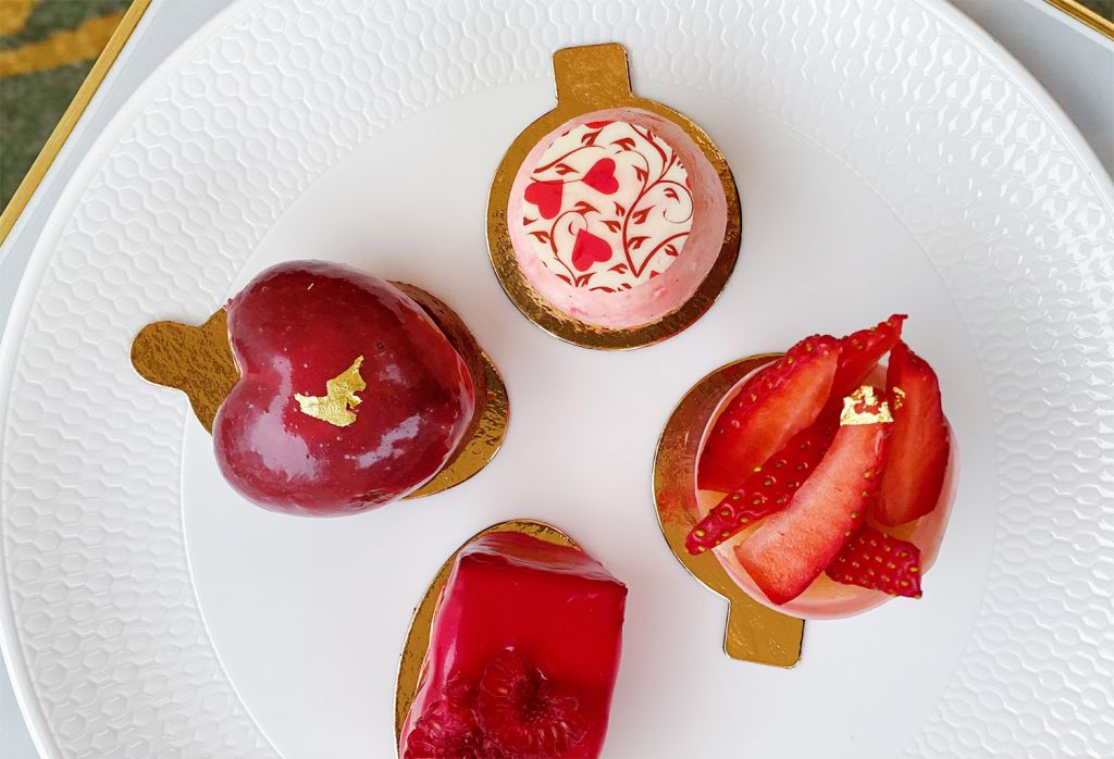 Scott Villacora has created a very special afternoon tea with a true romance
