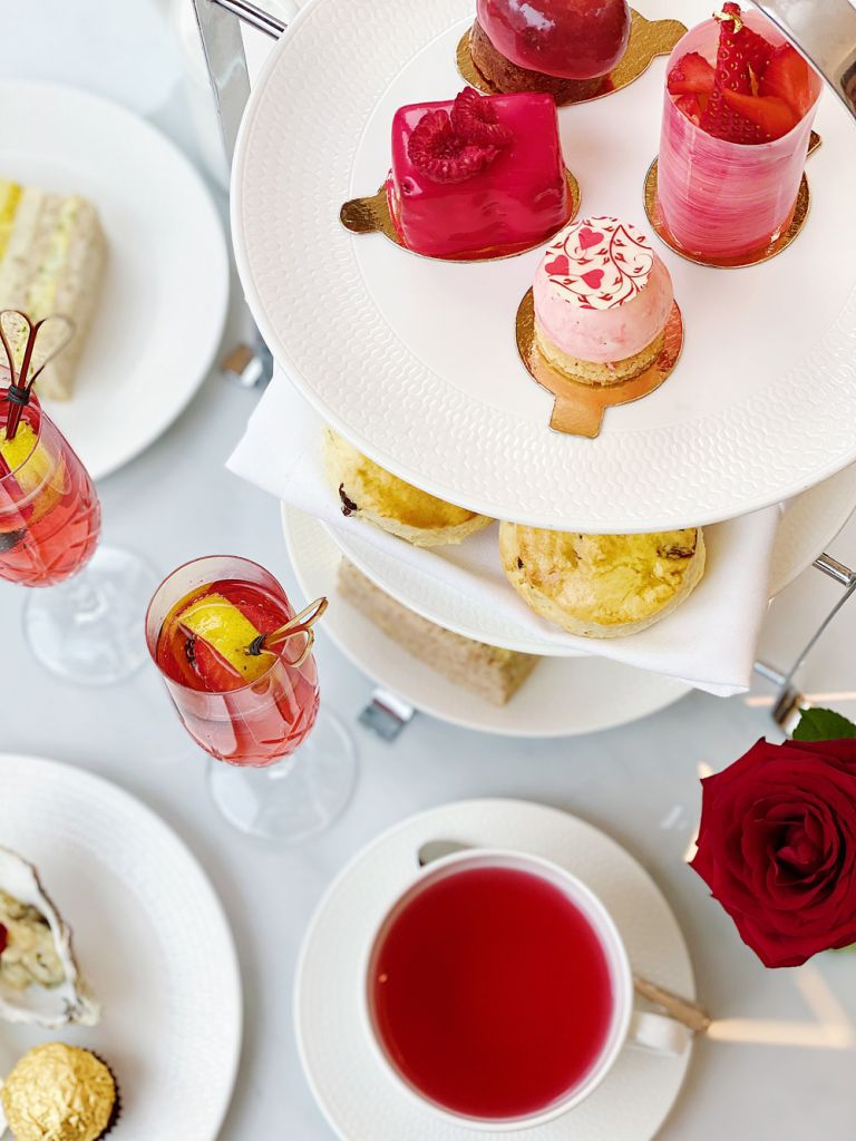 Valentine's Afternoon Tea at Royal Lancaster London