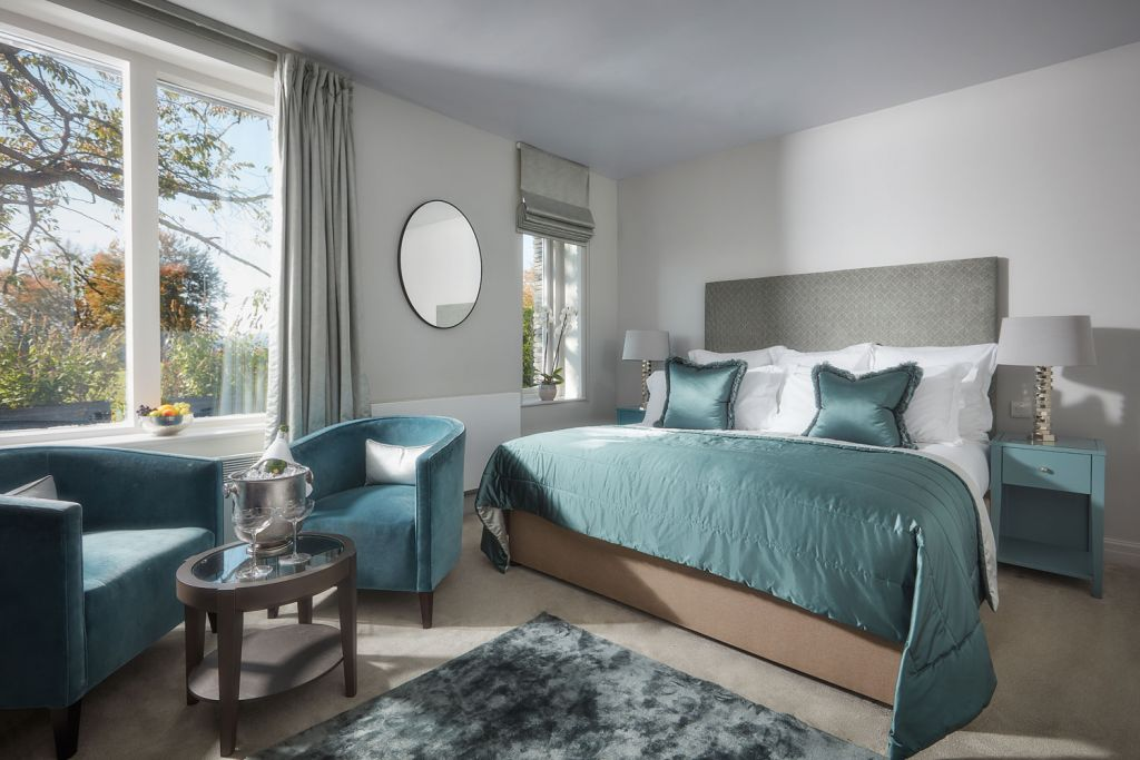Samling Hotel bedroom suite in the Lake District