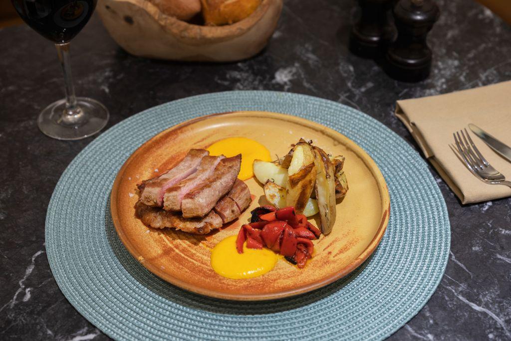 Secreto Iberico pork at the Arado restaurant