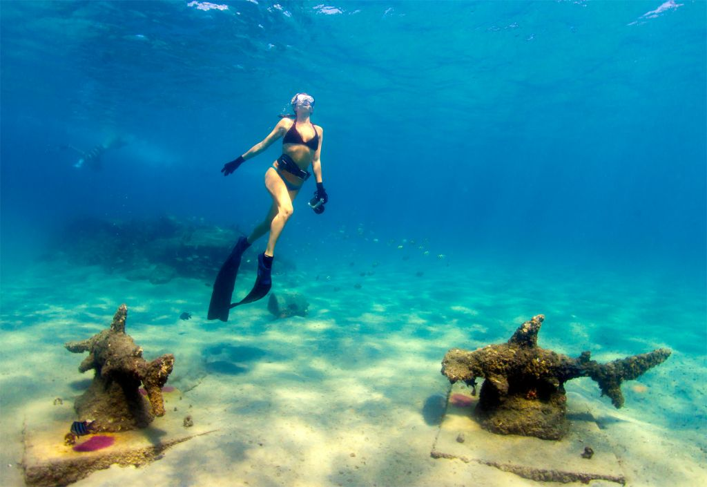 Snorkeling in Palm Beaches Florida