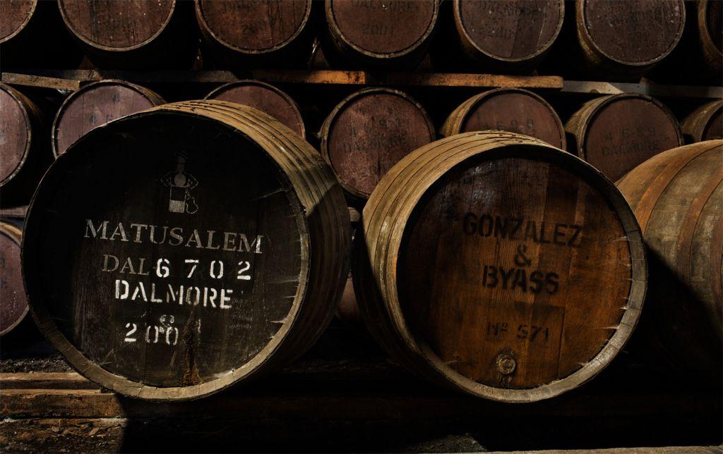 The Dalmore Matusalem Sherry casks from Gonzalez Byass