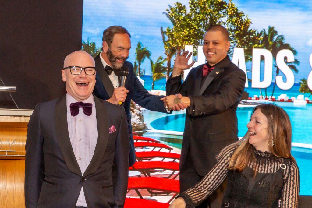 The Restaurant Association Gala Dinner raised £25,000 through a live auction