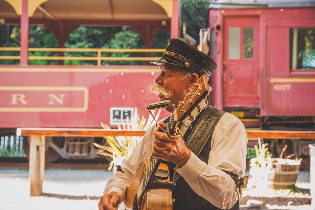 the Skunk Train – Mendocino County, California