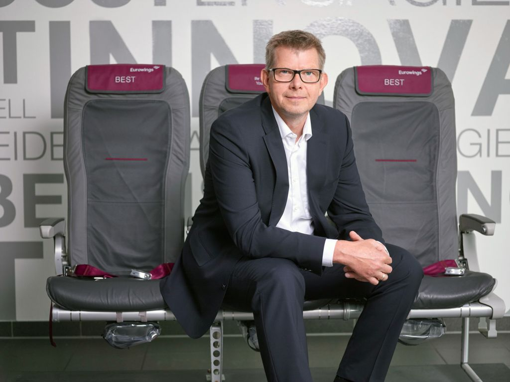 Thorsten Dirks CEO of Eurowings