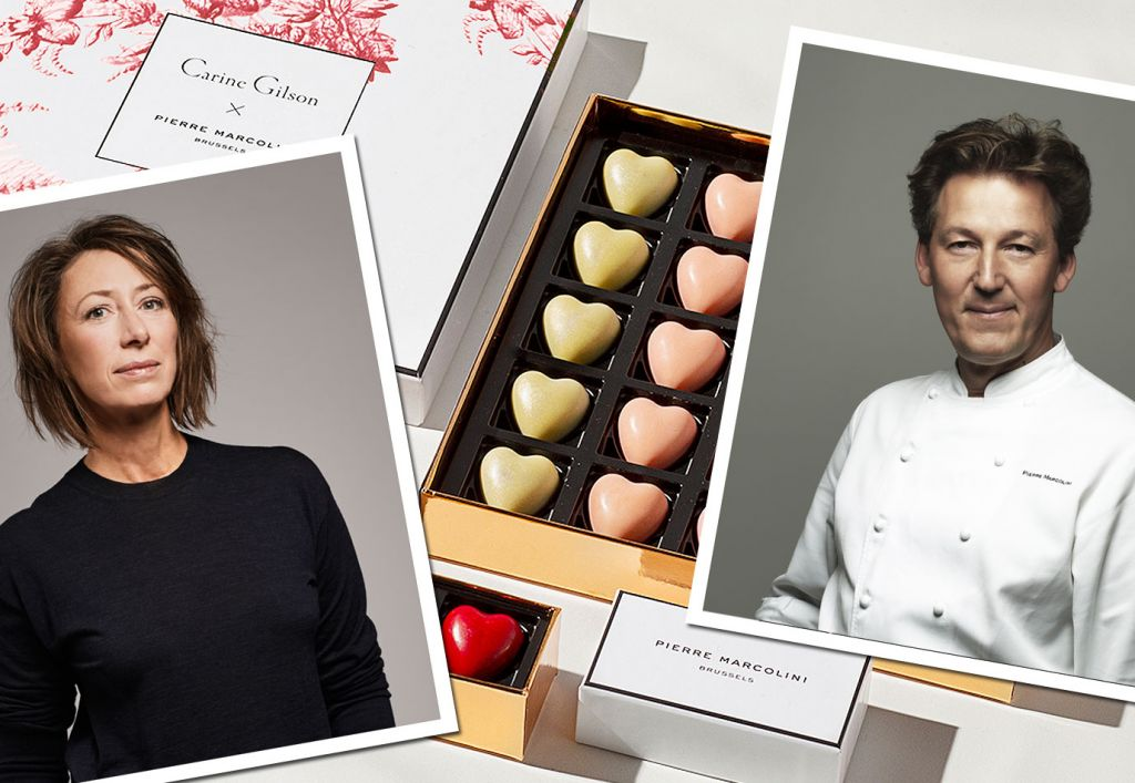 Valentine's Day Chocolate by Pierre Marcolini and Carine Gilson