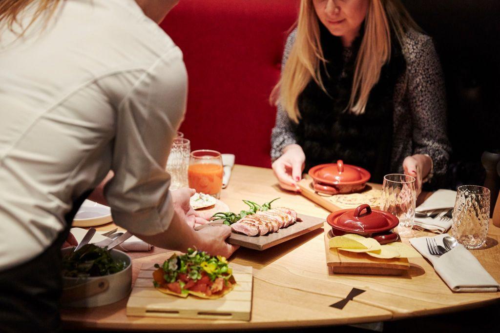 Valentine's Day dinner and a movie at Eneko Basque Kitchen & Bar