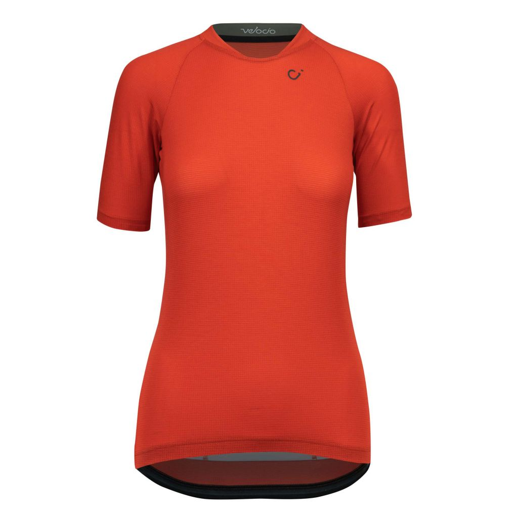 Velocio 2020 RECON Micromodal Jersey in red