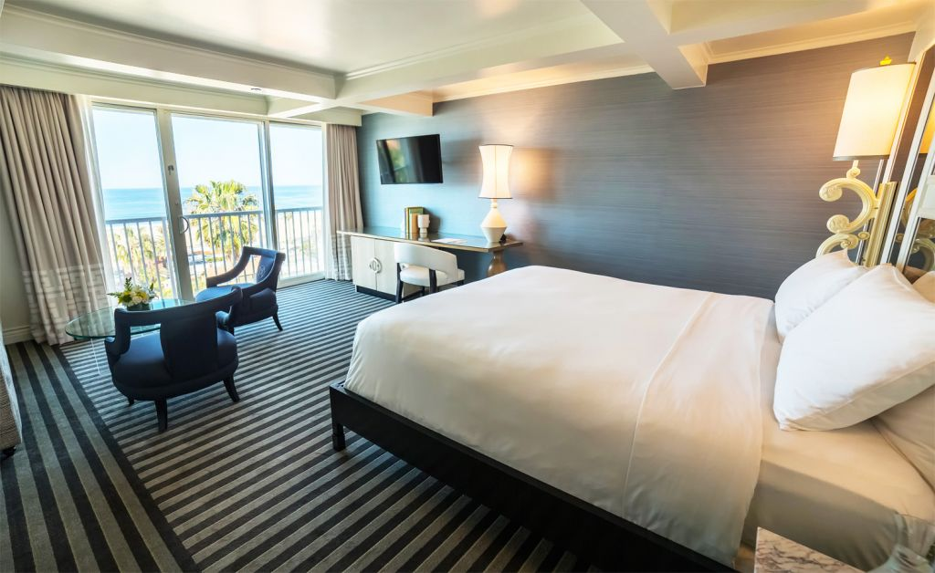 Viceroy Santa Monica luxury room with a gorgeous view