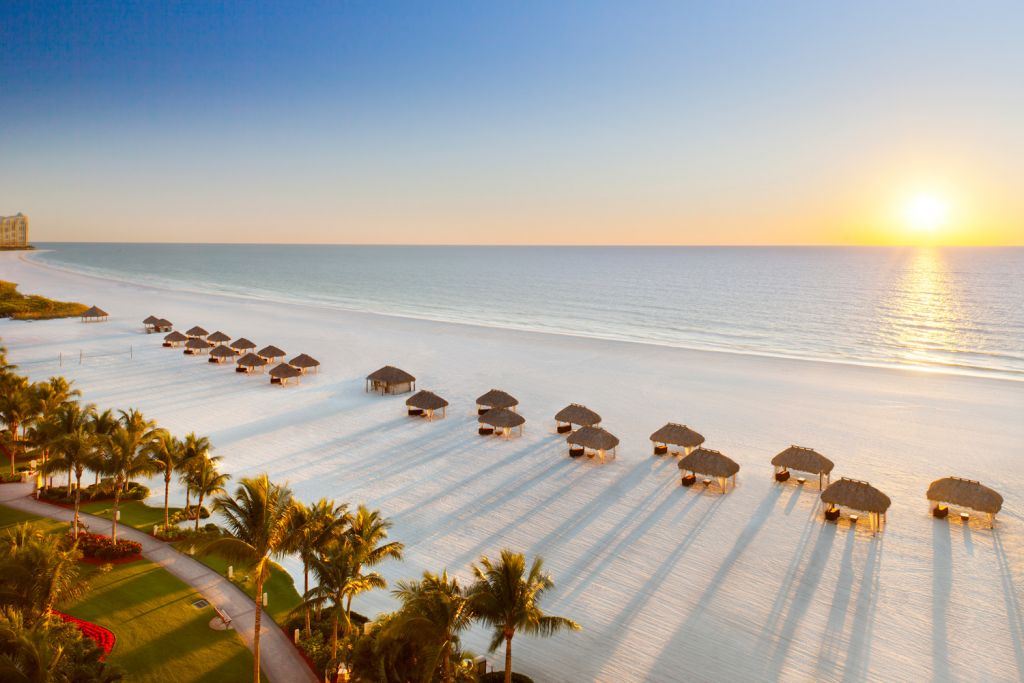 Views from the JW Marriot Marco Island Beach Resort
