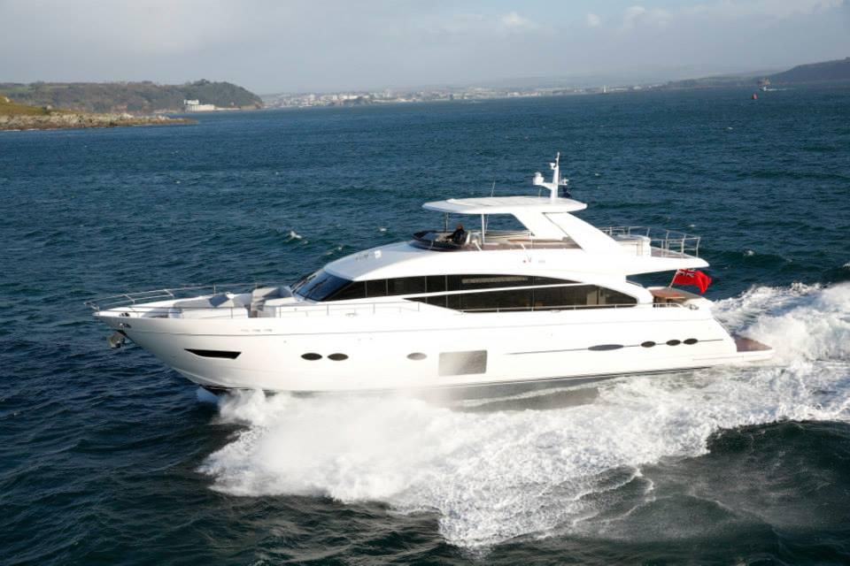 Princess Yachts boot Düsseldorf