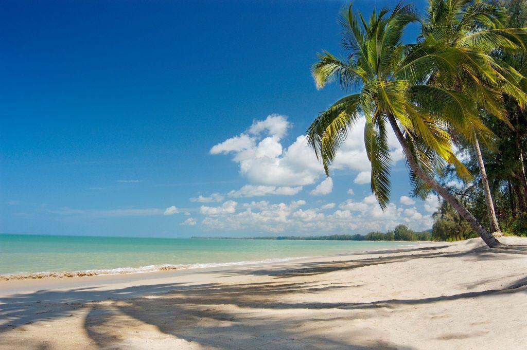 The beach at the Sarojin