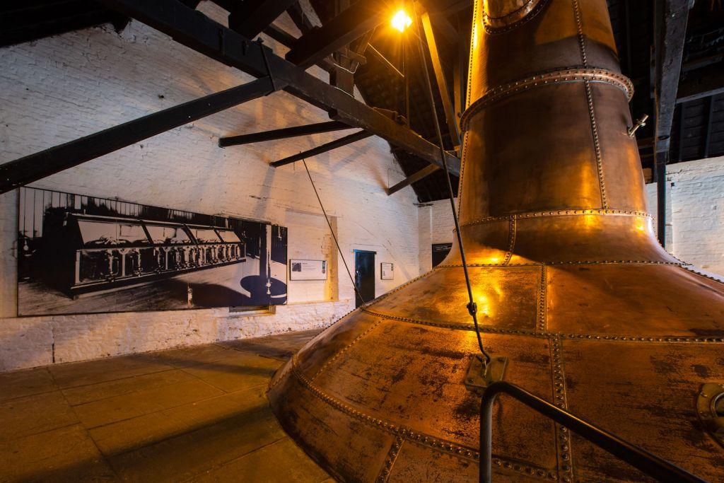 A still at Irish Distillers Redbreast