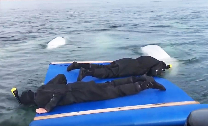 AquaGliding in Manitoba Canada