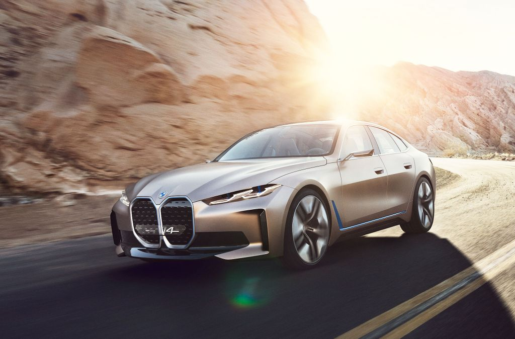 BMW Concept i4 Q1 2020