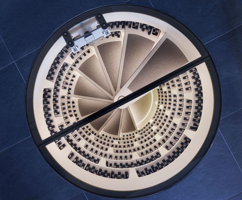 Bespoke Spiral Cellar in the UK