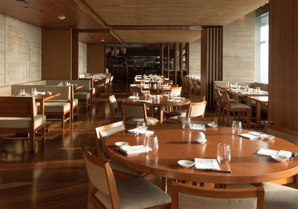 Dining area inside Nobu Kuala Lumpur