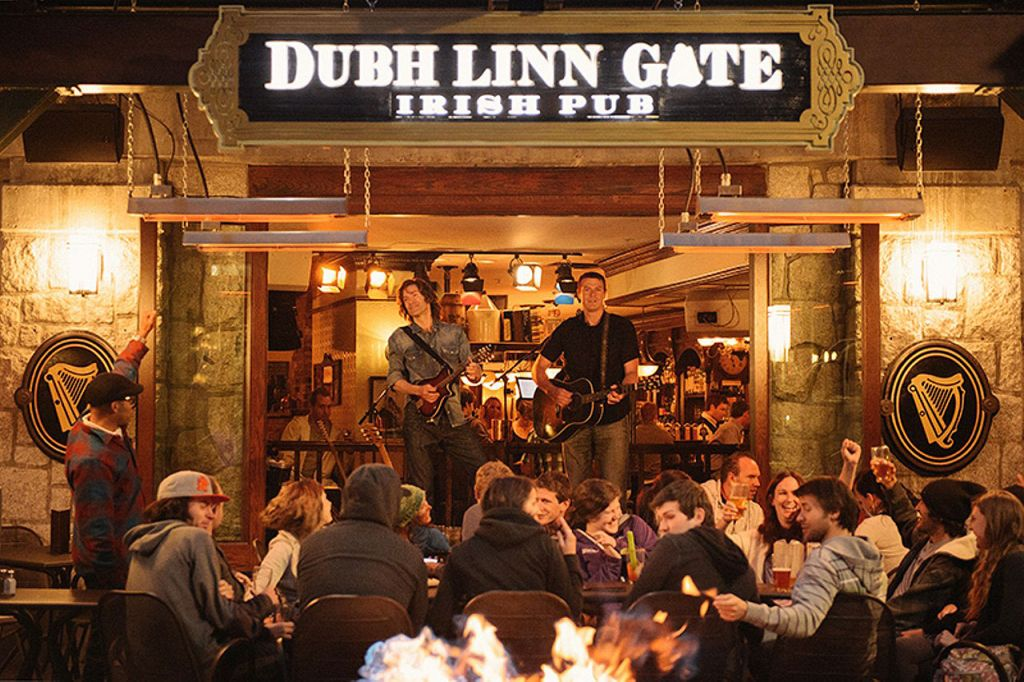 Dubh Linn Gate Irish Pub in Whistler Canada