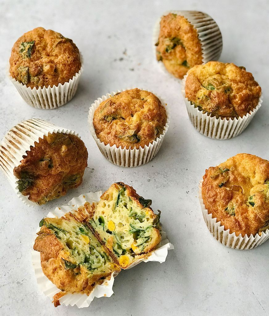 Easy Peasy savoury Cheese Muffins