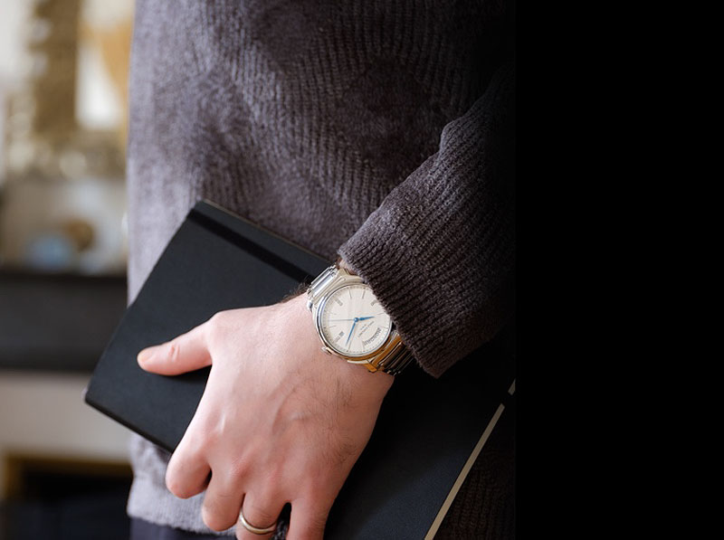 The Heritier Weekly Date Timepiece