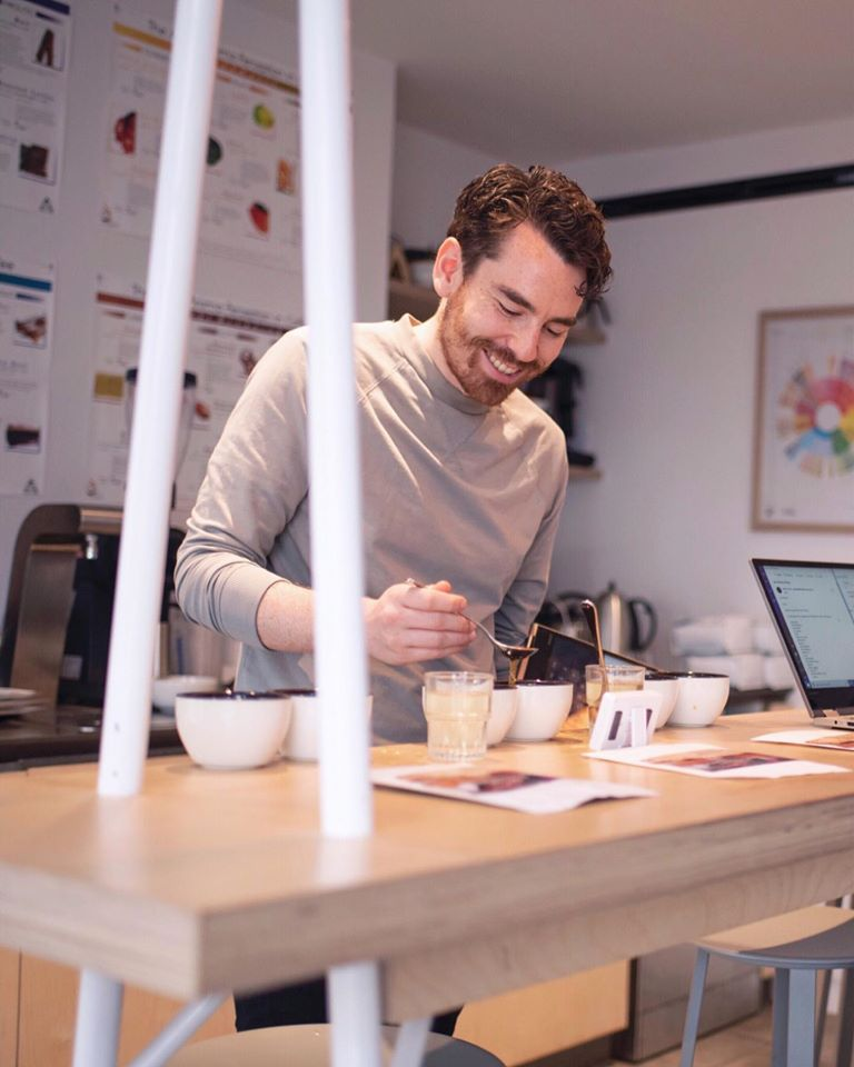 Head of Coffee Josh Tarlo