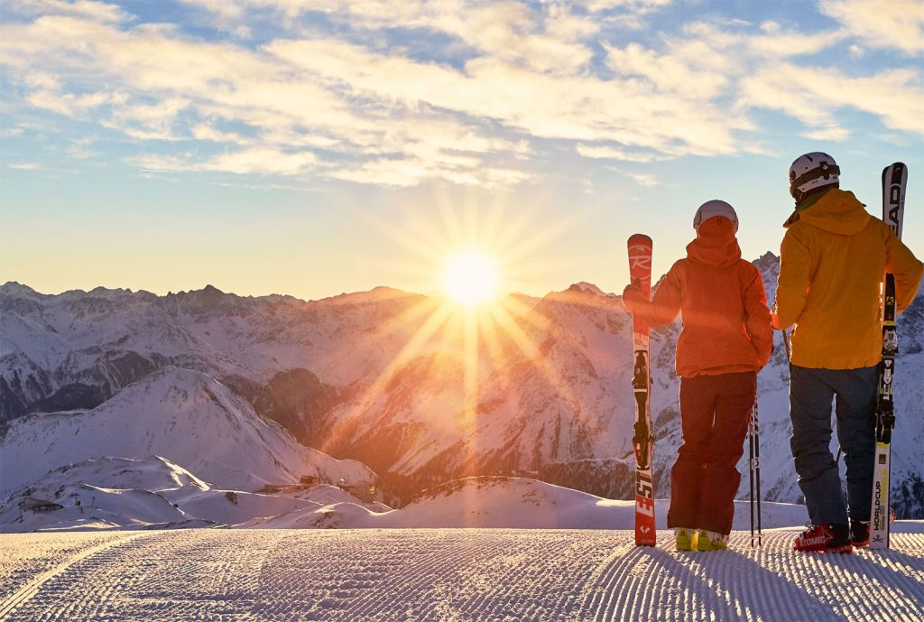 Learning The Fine Art of Skiing in Ischgl Austria