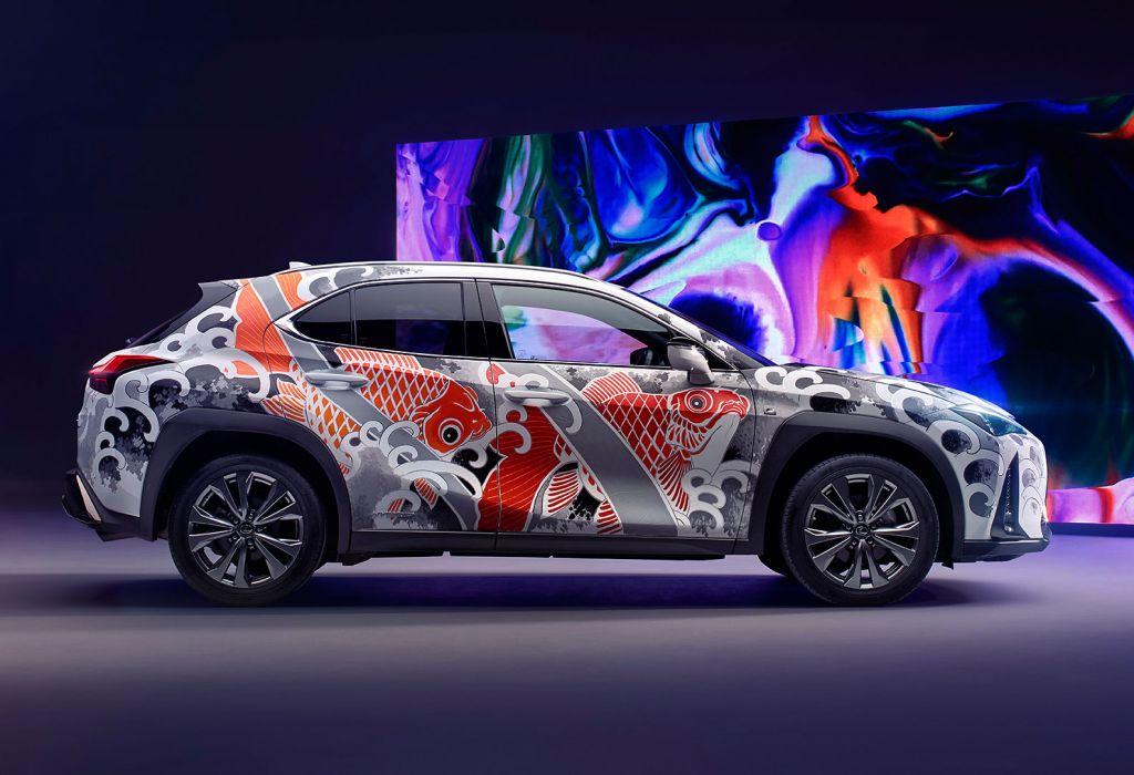 Lexus UX Tattooed Car by Claudia De Sabe