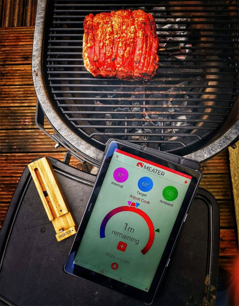 The MEATER+ is ideal for barbecues