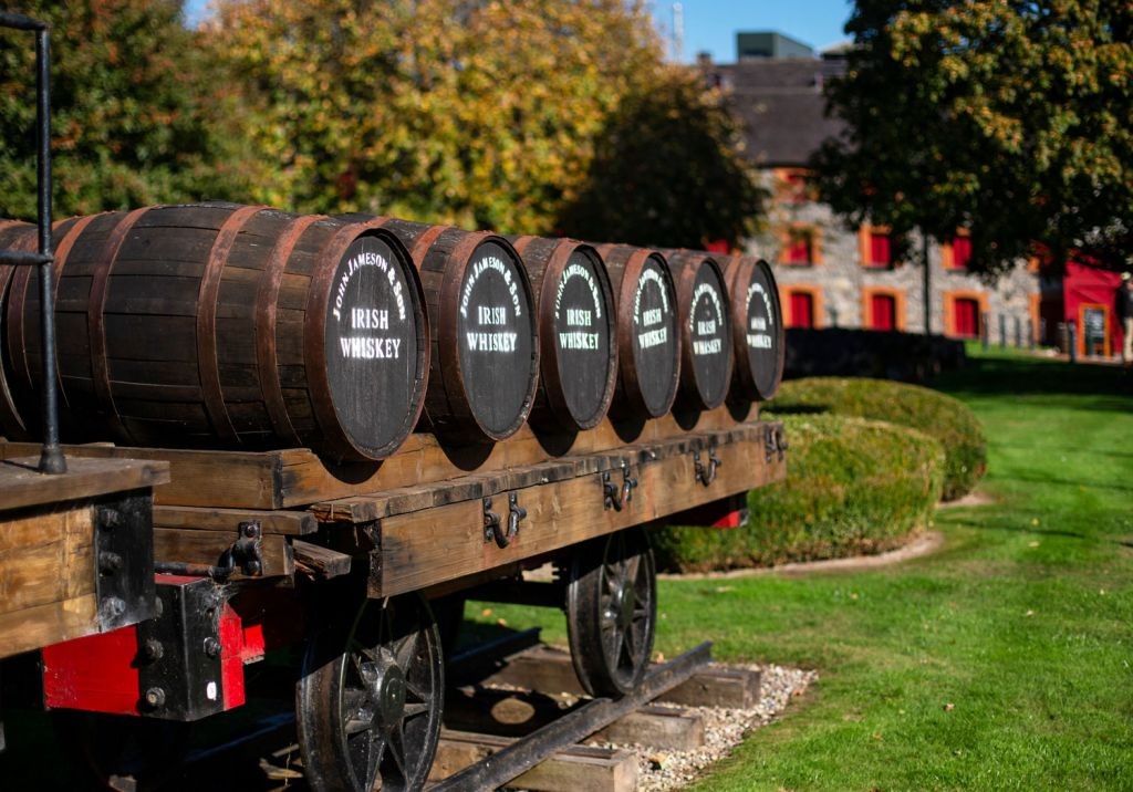 Redbreast Irish Whiskey barrels