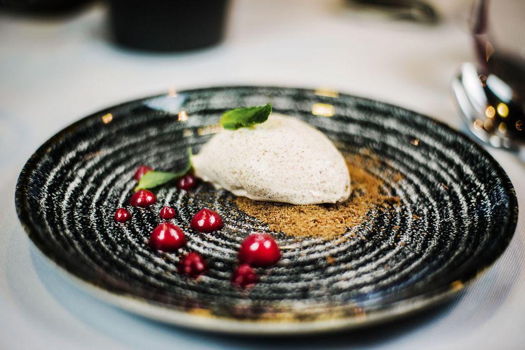 Restaurant food in Vilnius Lithuania