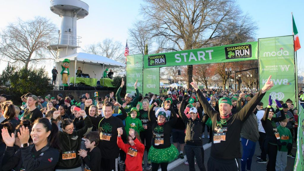 Shamrock Run in Portland Oregon