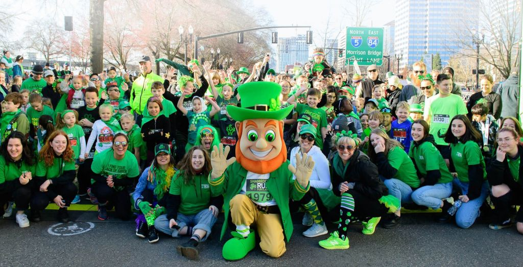 Shamrock Run in Portland Oregon 2020