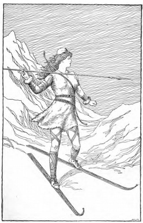 Skadi from Norse Mythology