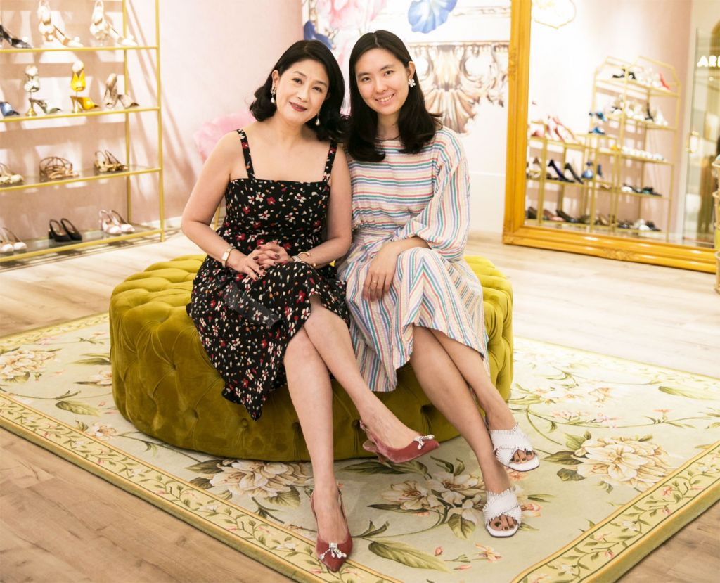 Soo Shea Pin and her daughter Wenfei at Feith London KL