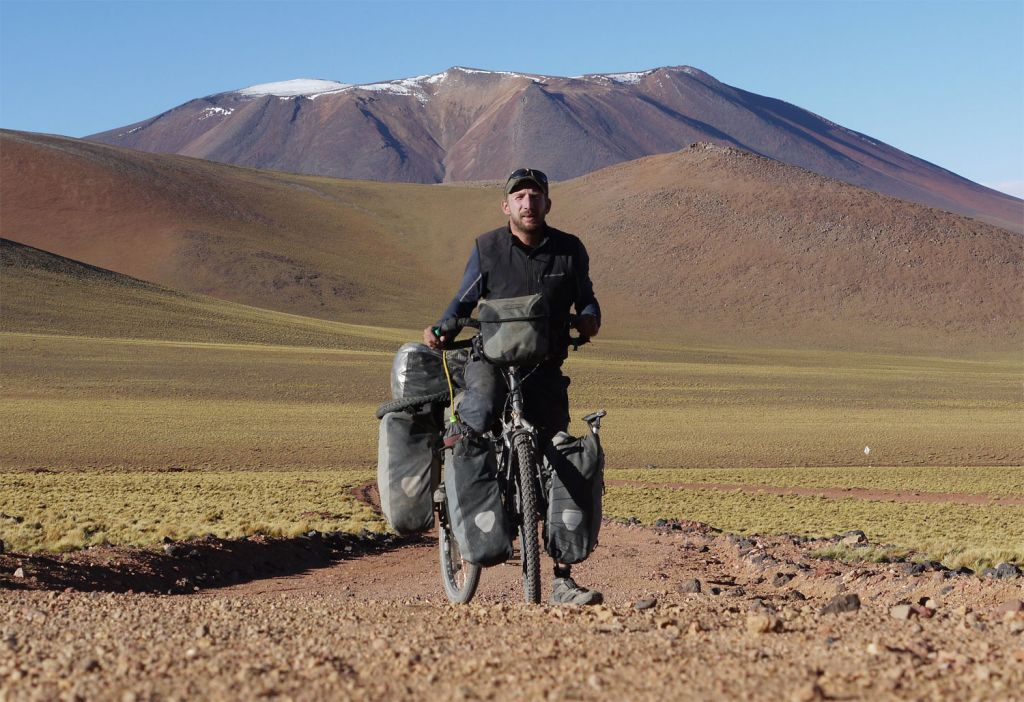 Stephen Fabes on an amazing cycling adventure