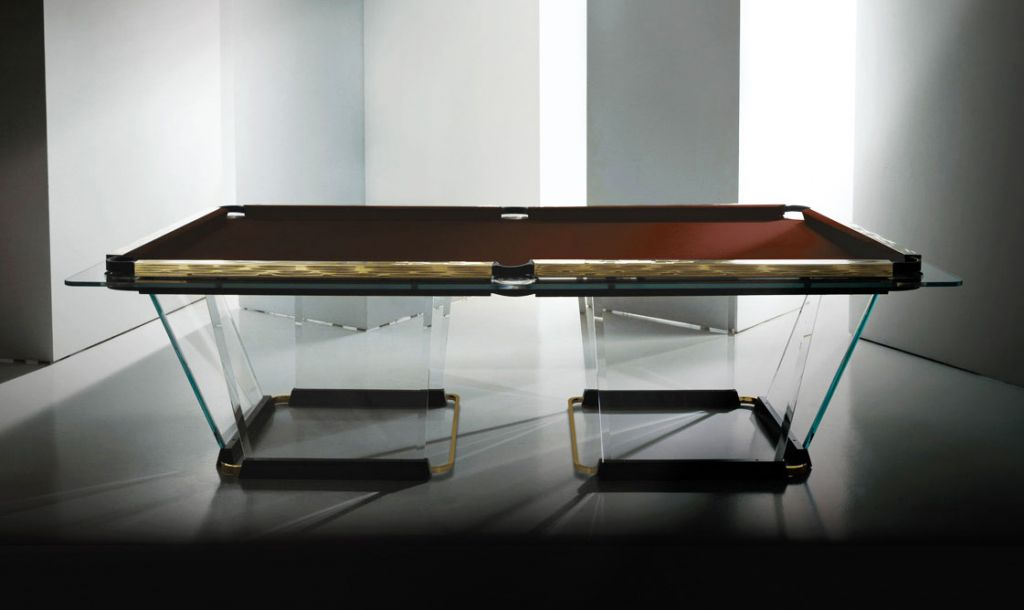 Prices for the T1 Glass Pool Table cost