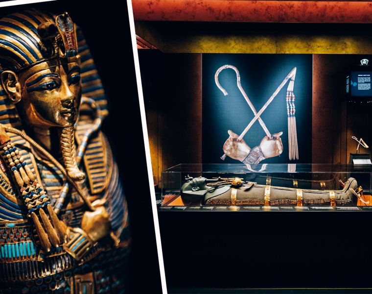 The Tutankhamun London Exhibition