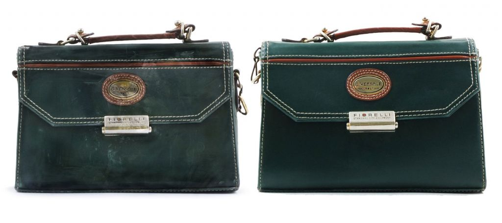 Versace bag restored by the Bagspa
