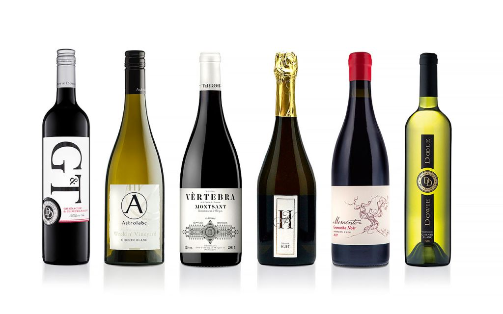 The six wines in the Armit Wines At-Home Masterclass