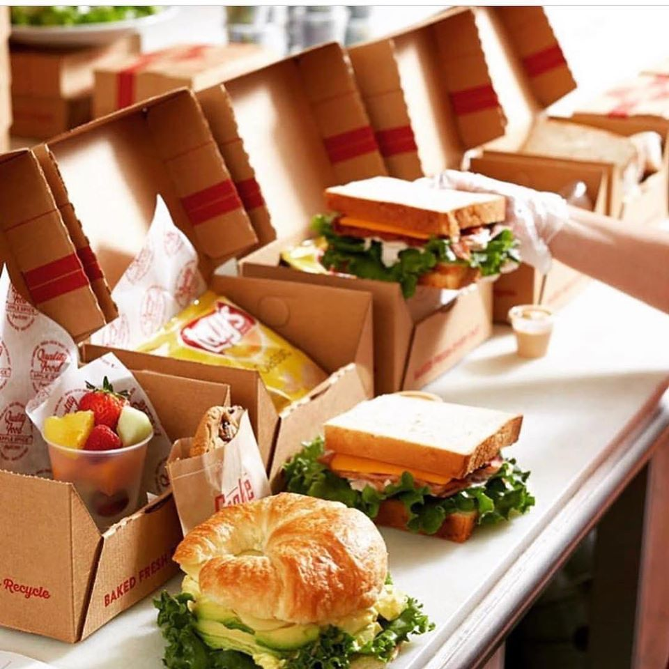 """Apple Spice Box Lunch Catering launched a program called """"Box of Thanks"""""""