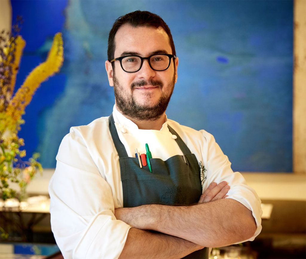 Chef Martin Sweeney at The Petersham