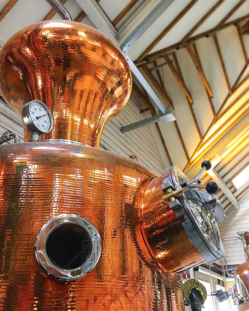 A Still at The Cotswolds Distillery.