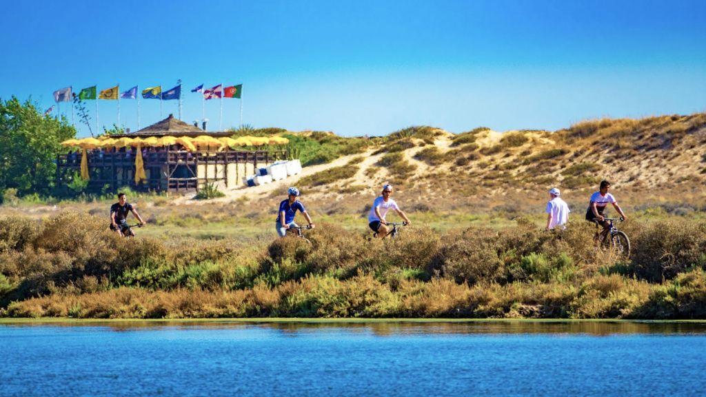 Cycling at Quinta do Lago