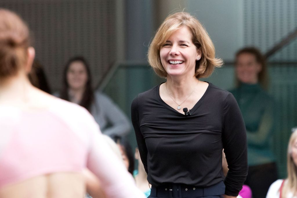 Darcey Bussell at the Royal Opera House for Ballet Live