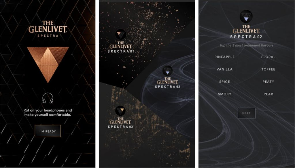 The Glenlivet Spectra virtual experience